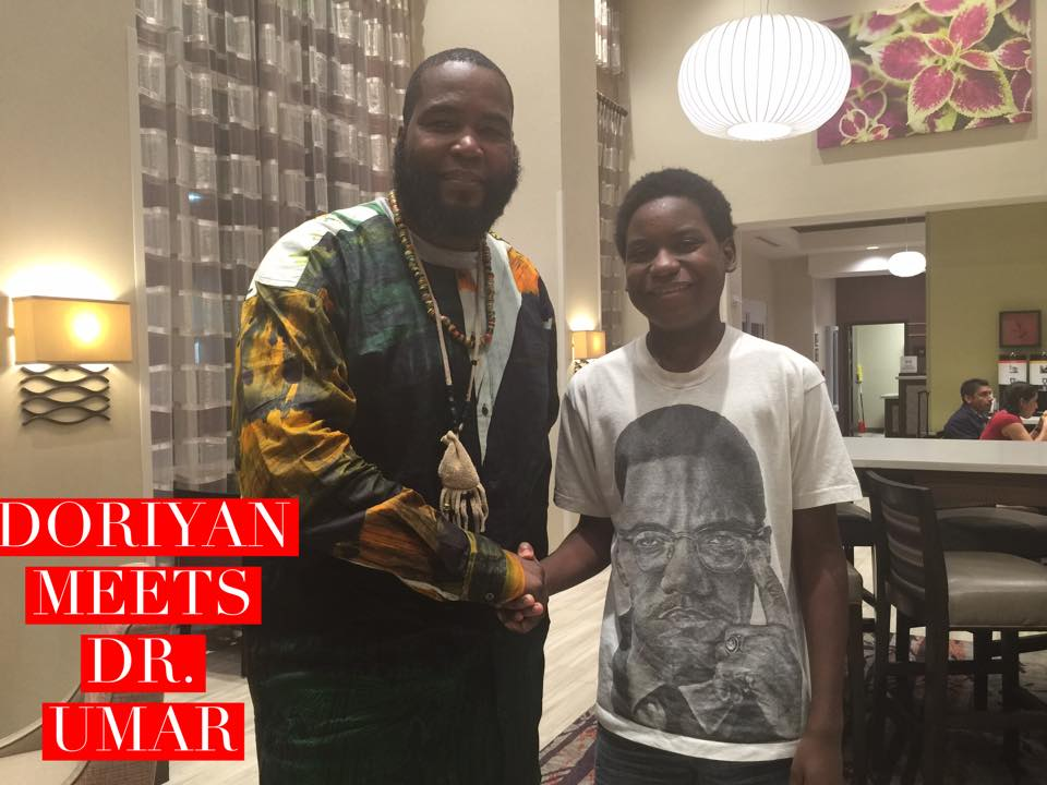 Doriyan Meets Dr. Umar Johnson (Stress in the African-American Community)