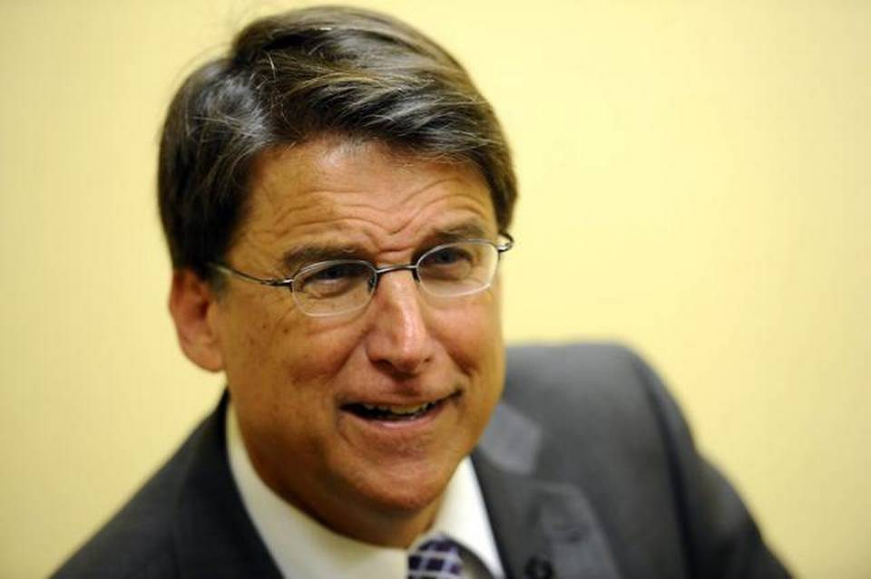 Governor Pat McCrory Pisses On Equality With Bathroom Bill